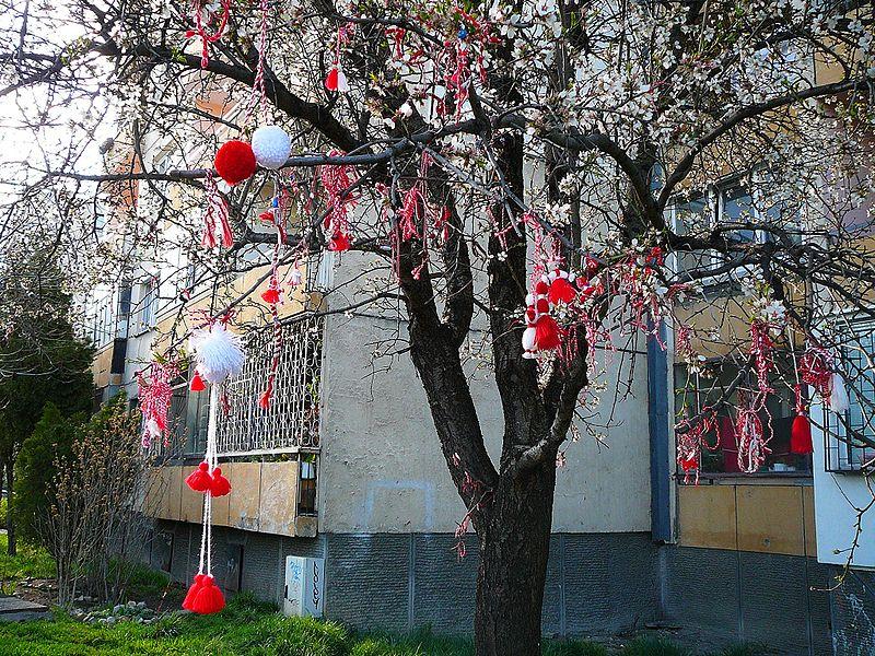 martenica - święto wiosny
