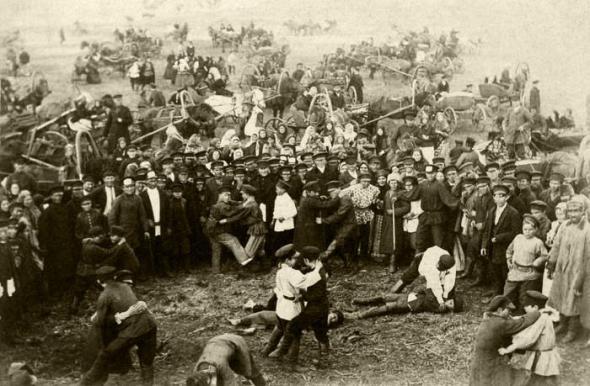 walka wręcz, Rosja, 1900