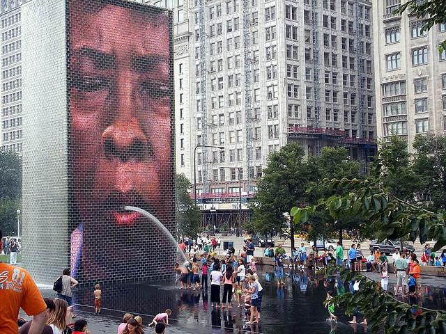 Park Millenium w Chicago