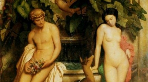 an idyl daphne and chloe jean-leon gerome