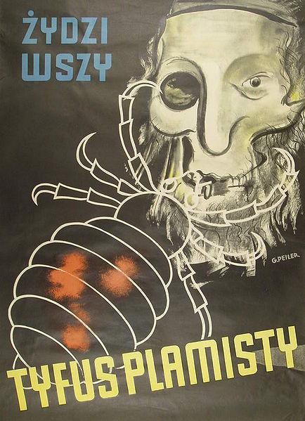 propagandowy plakat antysemicki